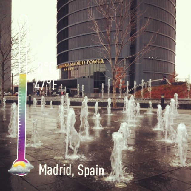 4 Torres / Towers, Madrid - from Instagram