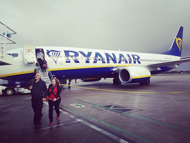 We made it onto the tarmac, second time luck. #ryanair #fr4006 - from Instagram