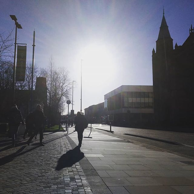 #wintersun #autohash #Manchester #UnitedKingdom #England #street #architecture #city #travel #traveling #visiting #instatravel #instago #road #light #outdoors #sky #sunset #building #evening #town #church #tree #dusk #landscape #dawn #tower - from Instagram