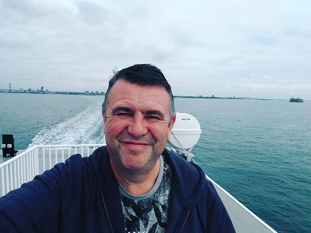Off to the Isle of Wight for the night. - from Instagram