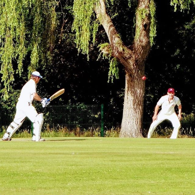 Very civilized game of cricket on the hottest day of the year. #autohash #UnitedKingdom #England #golf #cricket #competition #leisure  #exercise #game #wicket #sport #mcm #fit #fitfam #fitspo #fitness #ball #fun #hit #lifestyle #fairway #participate #action - from Instagram