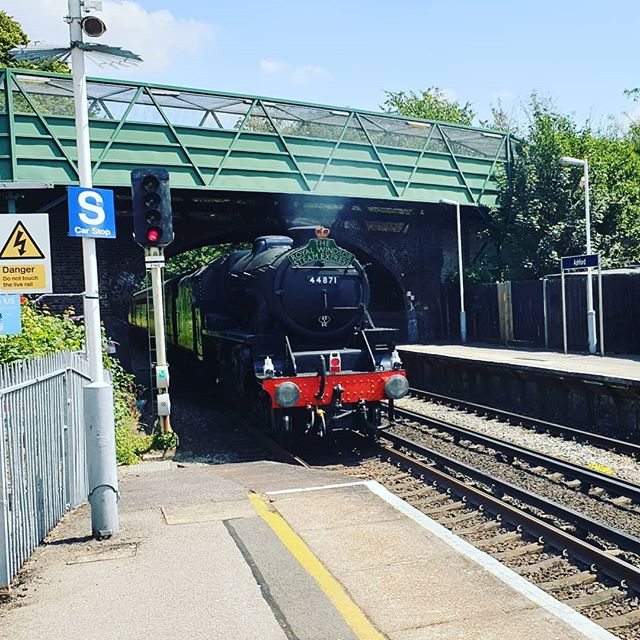 Off to Brighton for the day. Sadly this is not my train.#autohash #ashford #UnitedKingdom #England #train #railway #locomotive #travel #traveling #visiting #instatravel #instago #track #road #outdoors #engine #tourism #traffic #guidance #public #station #44871 - from Instagram