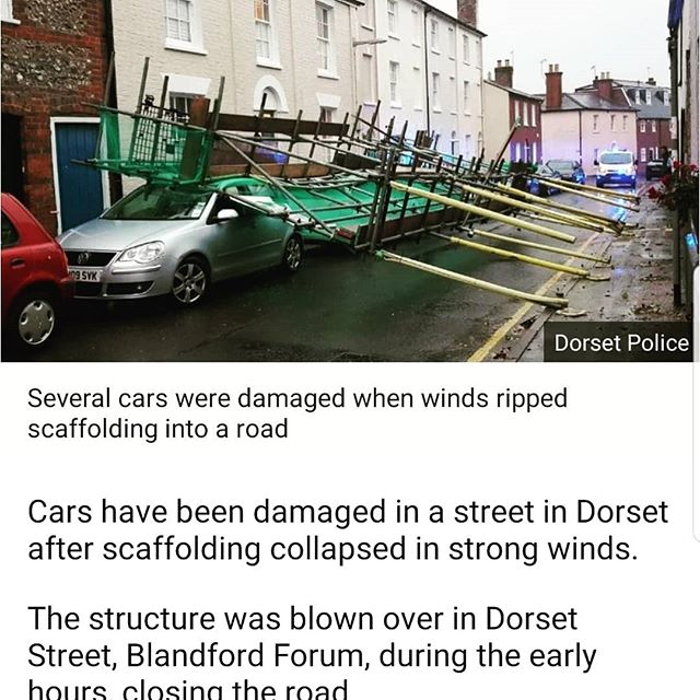 #Blandford made the #news today. - from Instagram